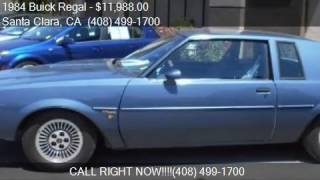 1984 Buick Regal T Type Turbo 2dr Coupe for sale in Santa Cl