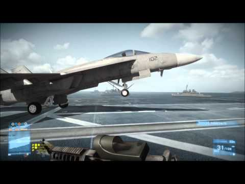 Battlefield 3 - Alternative Jet Takeoff!