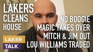 Lakers Pass on Boogie, Magic Takes Over, Mitch/Jim Out, Lou Traded to Houston #LakerTalk