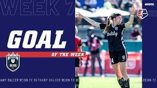 Bethany Balcer, Reign FC | Week 7 #NWSL Goal of the Week