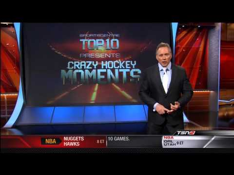 Top 10 Craziest Hockey Moments