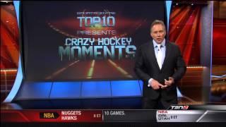 Top 10 Craziest Hockey Moments