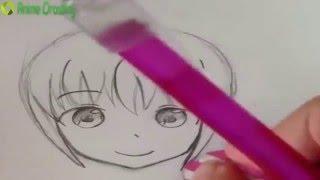 [Học Vẽ Anime ] - Cách vẽ tóc trong anime