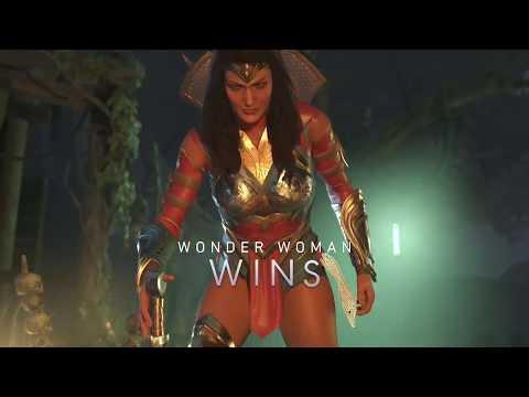 Injustice 2 Wonder Woman Get Equip Alternate Amazon Warrior Costume Shader