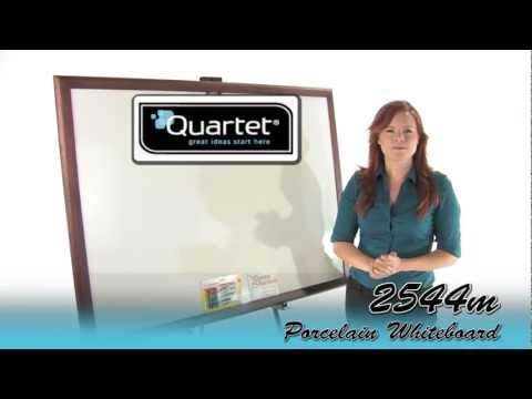 Quartet 2544M DuraMax Magnetic Porcelain Whiteboard
