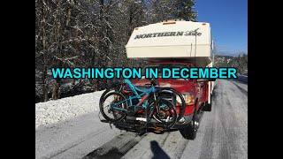 Spending December in Washington.  Free Camping in Leavenworth.