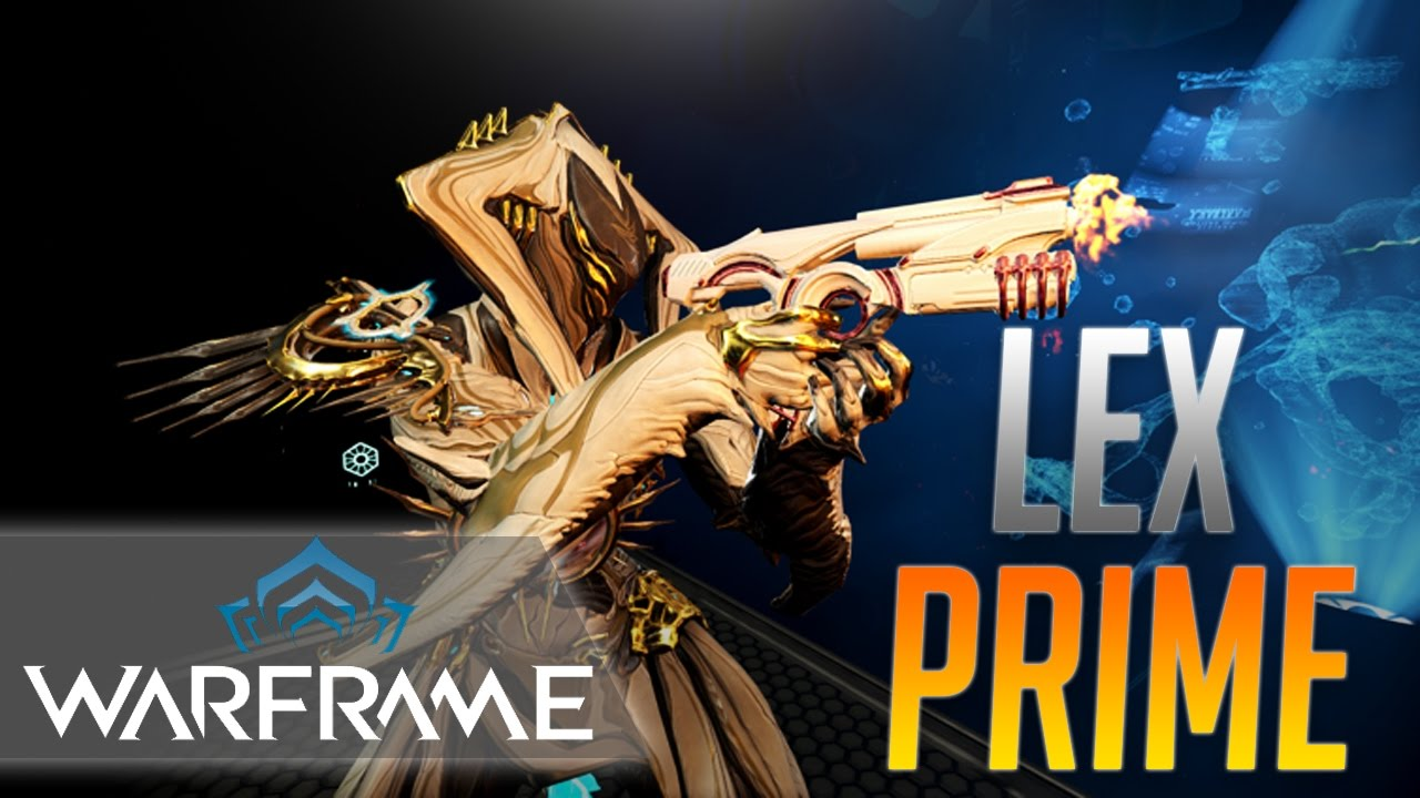 warframe  lex prime build - one shot sorties