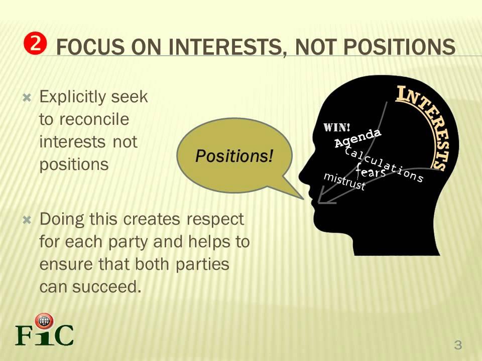 Principled Negotiation Skills Part 3