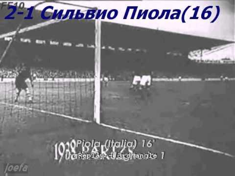 WC 1938 Italy vs. Hungary 4-2 (19.06.1938)