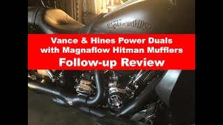 Vance & Hines Power Duals follow up review.
