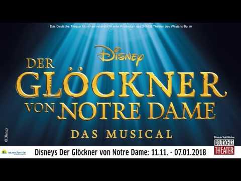 Disneys der Glöckner von Notre Dame im Deutschen Theater München