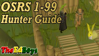 OSRS 1-99 Hunter Guide | Updated Old School Runescape Hunter Guide