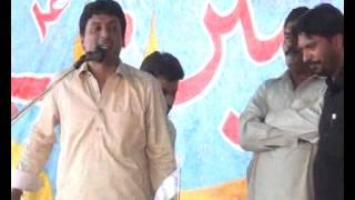 Zakir  Ghulam Abbas Ratan majlis 25 Apr 2014 at mandi shah jewana