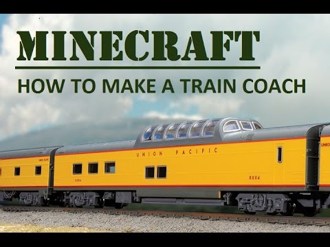 minecraft how to make a train passenger car youtube. Black Bedroom Furniture Sets. Home Design Ideas
