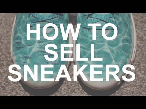 How To Sell Pair Of Sneakers