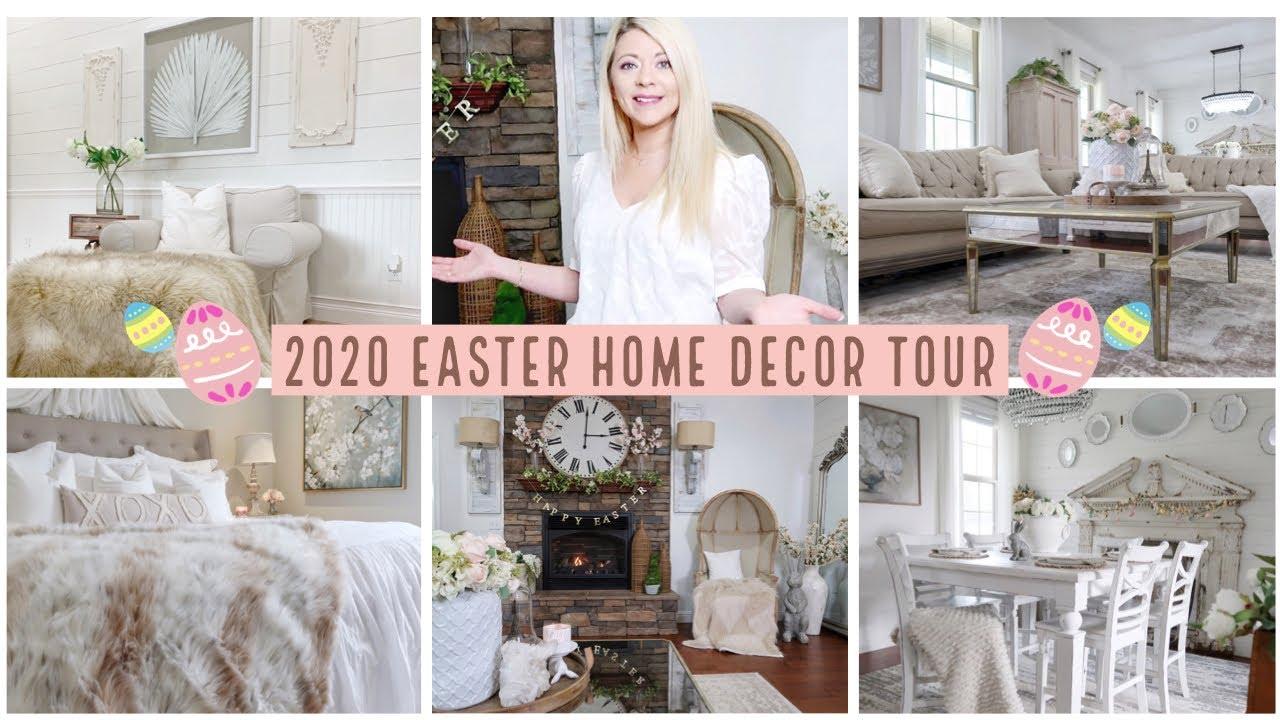 2020 Easter Spring Home Decor Tour Casey Jo Helton