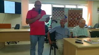 Журналист, поэт, историк шахмат Владимир Линдер о Котове в стихах