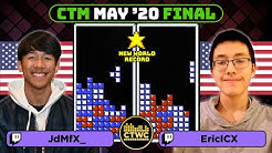 WR DURING MATCH PLAY! - May 2020 CTM - Final - Classic Tetris Monthly