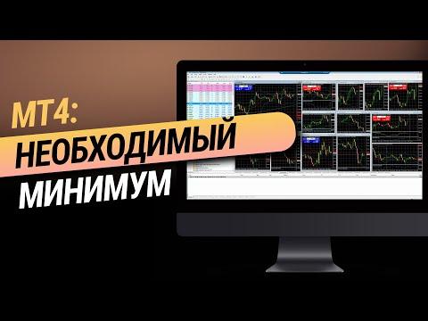 Торговый терминал MetaTrader 4: необходимый минимум
