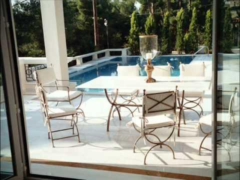 Fioriere, piastre, tavoli arredo giardino. Tavoli Da Giardino Arredo Giardino Mobili Da Giardino Sedie Da Giardino Youtube
