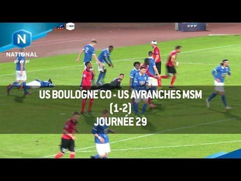 J29 : US Boulogne CO - US Avranches MSM (1-2), le résumé