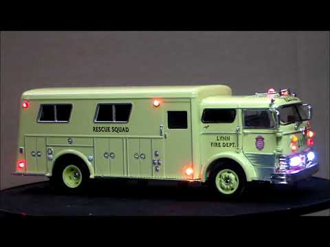 Custom Lighted Mack C Rescue Truck
