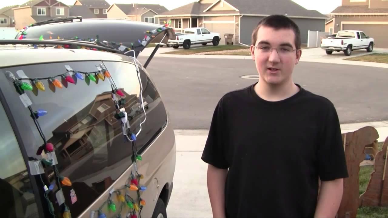 BJ's Christmas Lights Car - How to Put Christmas Lights On A Car ...