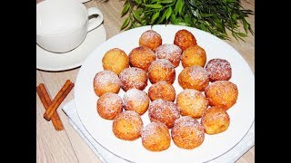 Творожные Пончики за 20 минут! Cottage cheese donuts