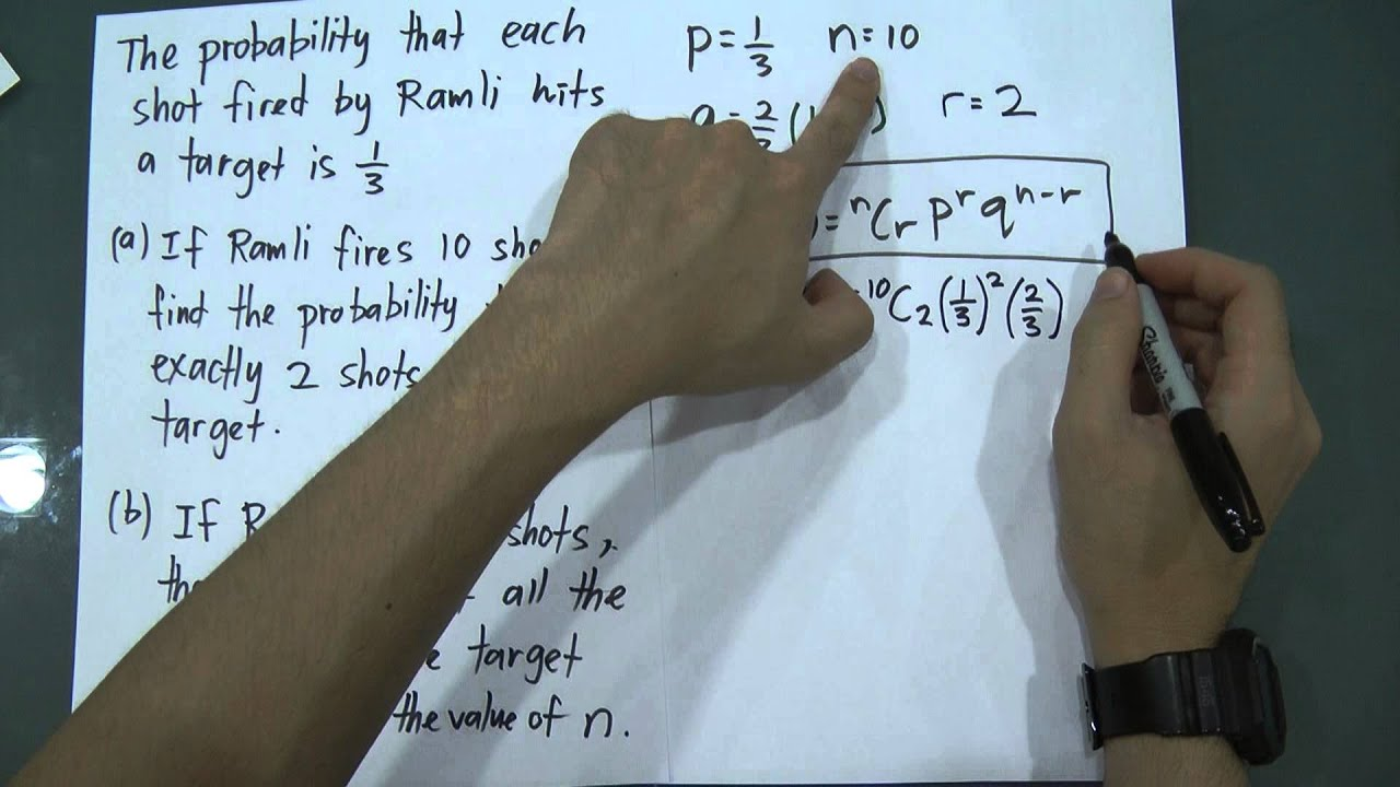 SPM - Add Maths - Form 5 - Probability Distribution (Example of ...