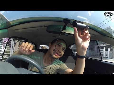 Pasang Kamera Kereta | 70mai Dash Cam Pro Smart & GPS Module | Sample Footage