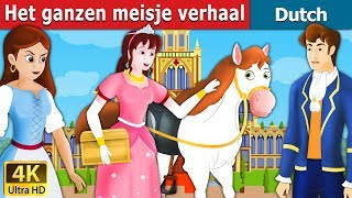 Het ganzenmeisje verhaal   Goose Girl in Dutch   4K UHD   Dutch Fairy Tales