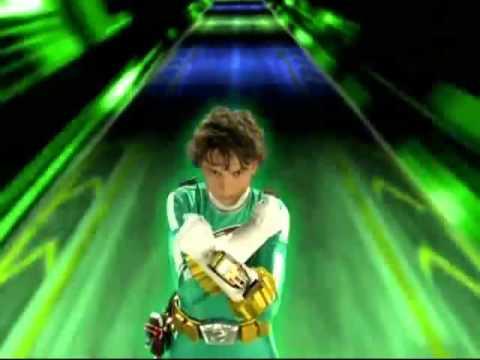 Power Rangers RPM - Green Ranger Morph 5 - YouTube