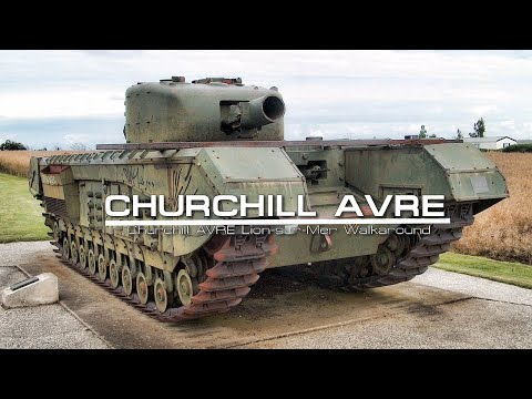Churchill AVRE Lion-sur-Mer Walkaround 70th Anniversary of D-Day and the Battle of Normandy 2014