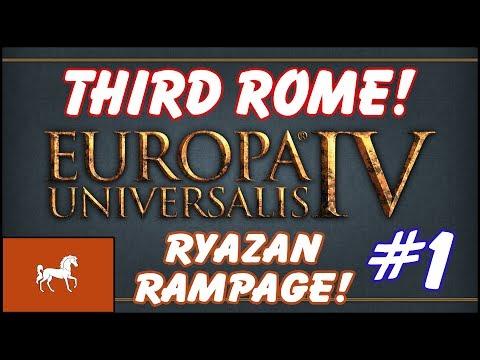 EU4 Third Rome - Ryazan Rampage! - Episode 1