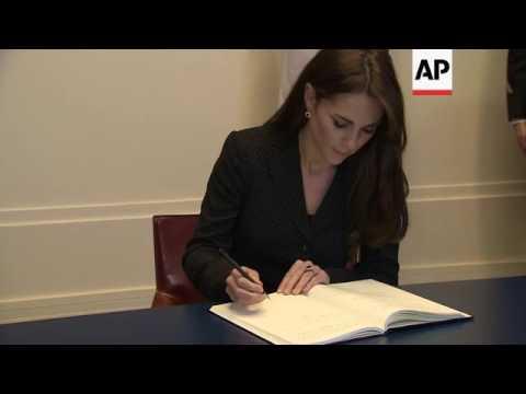 UK royals offer condolences for Paris attacks