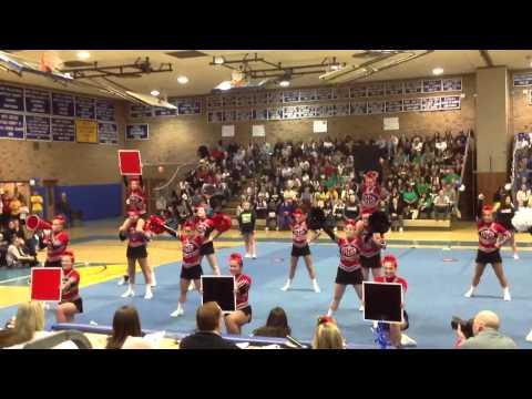 Plainedge HS Varsity Cheer 2013 LICCA Championship