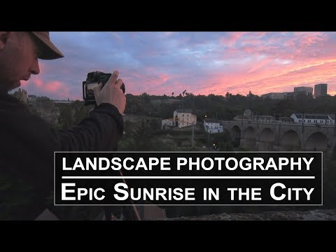 Epic Sunrise | Cityscape Photography | Luxembourg
