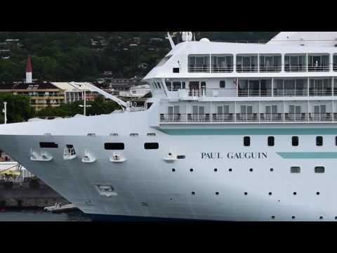Papeete, Tahiti, French Polynesia - Paul Gauguin in Papeete HD (2017)