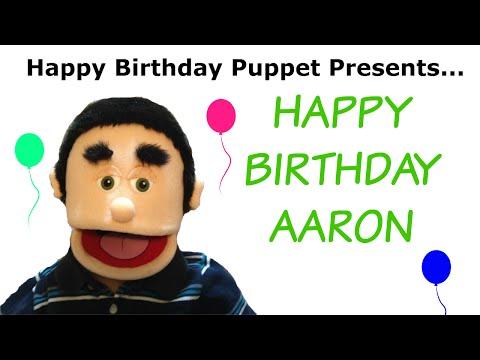 Happy Birthday Aaron - Funny Birthday Song
