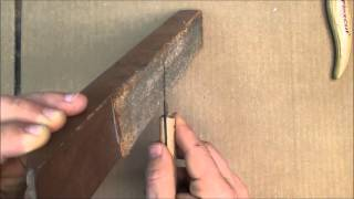Knife Sharpening For Woodcarving