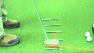 Controlling the putter face in the putting stroke.wmv