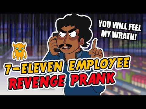 Crazy 7-Eleven Employee REVENGE Prank - Ownage Pranks