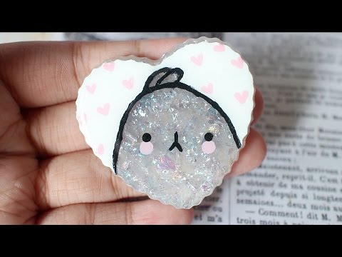Craft Hacks: Painting On Resin || carvecakes