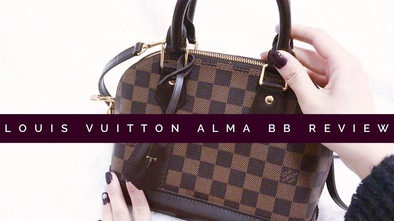 9da6b132af35 Louis Vuitton Alma BB Review - Wear  Tear - WIMB - YouTube