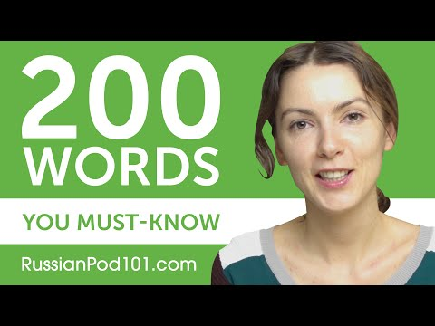 200 Words Every Russian Beginner Must-Know