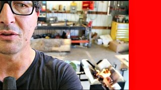 Forging Steel With Wood Scraps