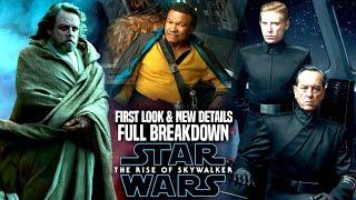 The Rise Of Skywalker FIRST LOOK! Full Breakdown & New Details! (Star Wars Episode 9)