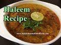 How To Make Haleem Recipe | Daleem Recipe | Step By Step Full Video