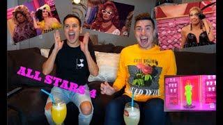 Rupaul's Drag Race All stars season 4 Episode 1 Reaction!