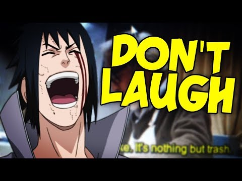 Anime was a Mistake... Try not to Laugh Challenge